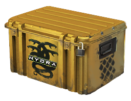 An un-opened Operation Hydra Case