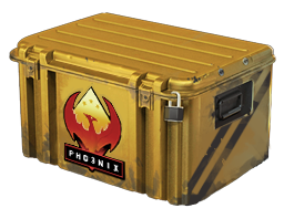 An un-opened Operation Phoenix Weapon Case