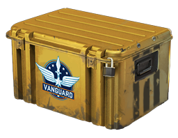 An un-opened Operation Vanguard Weapon Case