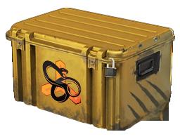 An un-opened Snakebite Case