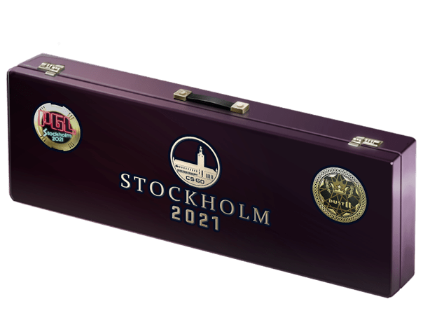 An un-opened Stockholm 2021 Dust II Souvenir Package