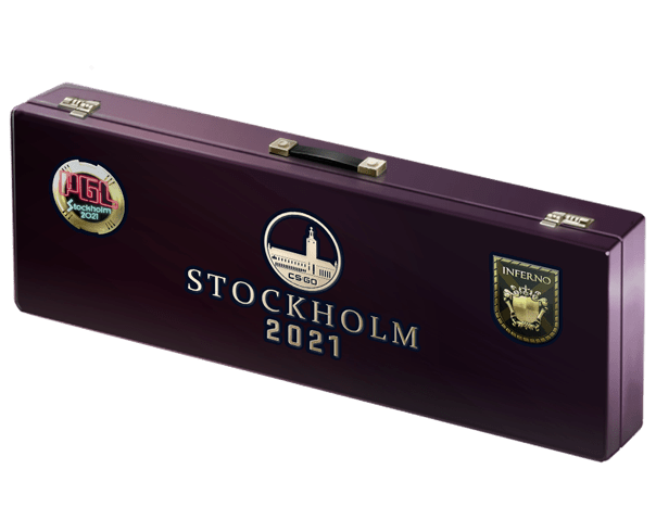 An un-opened Stockholm 2021 Inferno Souvenir Package