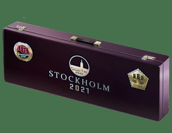 An un-opened Stockholm 2021 Mirage Souvenir Package