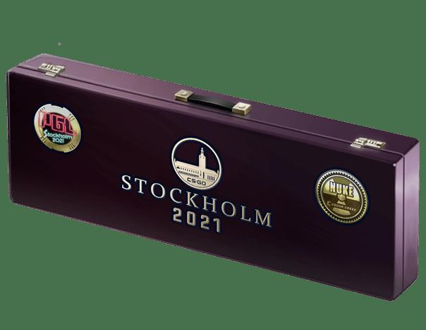 An un-opened Stockholm 2021 Nuke Souvenir Package