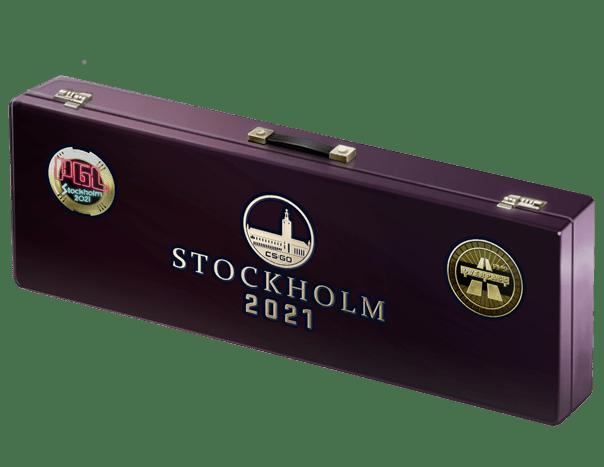 An un-opened Stockholm 2021 Overpass Souvenir Package