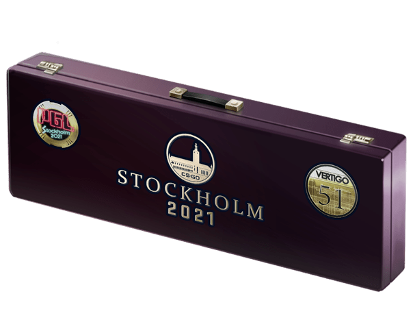 An un-opened Stockholm 2021 Vertigo Souvenir Package