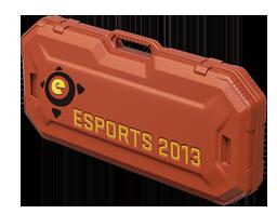 An un-opened eSports 2013 Case