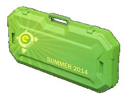 An un-opened eSports 2014 Summer Case