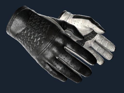 Driver Gloves | Black Tie