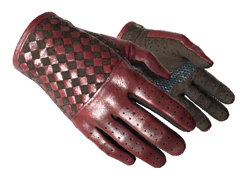 Driver Gloves | Crimson Weave