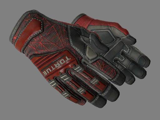 Specialist Gloves | Crimson Web