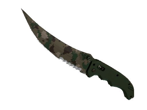 Flip Knife | Forest DDPAT