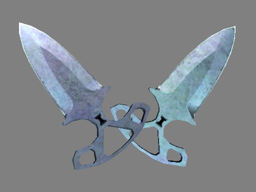 Shadow Daggers | Blue Steel