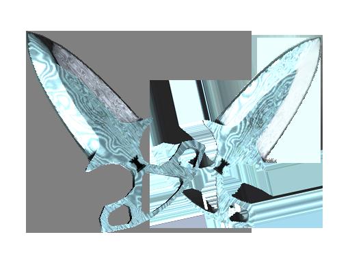 Shadow Daggers | Damascus Steel