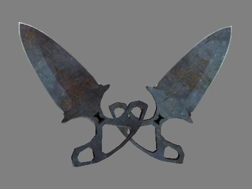 Shadow Daggers | Rust Coat