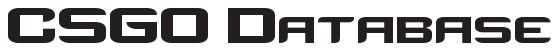 CSGO Database Logo