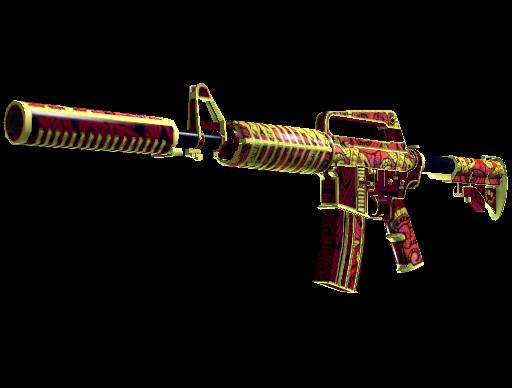M4A1-S Chanticos Fire
