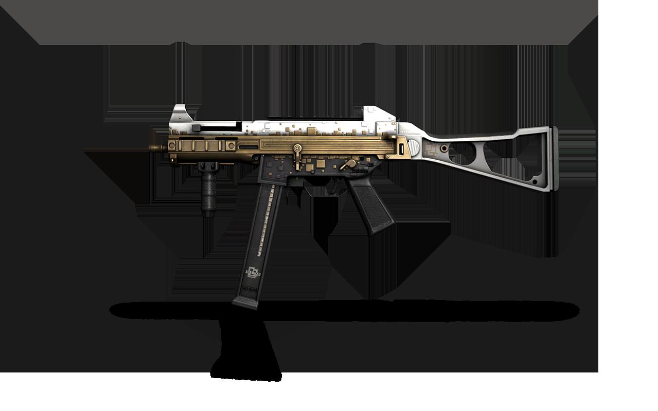 UMP-45 | Gold Bismuth