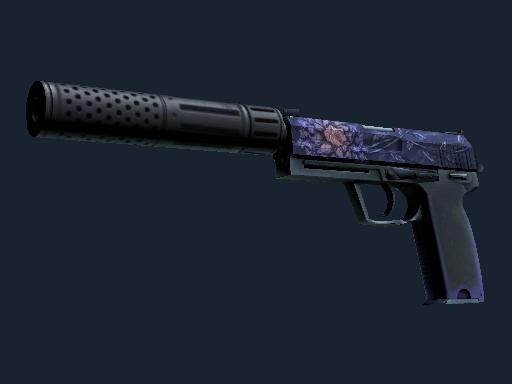 USP-S | Black Lotus