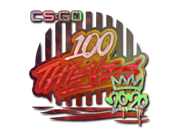 Sticker | 100 Thieves (Holo) | 2020 RMR