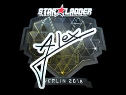 Sticker | ALEX (Foil) | Berlin 2019