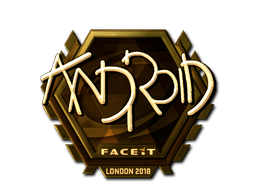 Sticker | ANDROID (Gold) | London 2018