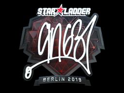 Sticker | ANGE1 (Foil) | Berlin 2019
