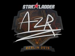 Sticker | AZR | Berlin 2019