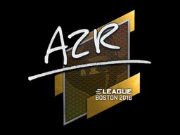 Sticker | AZR | Boston 2018