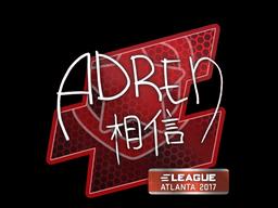Sticker | AdreN | Atlanta 2017