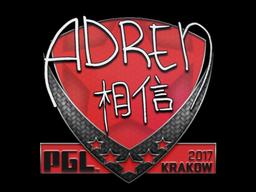 Sticker | AdreN | Krakow 2017