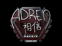 Sticker | AdreN | London 2018