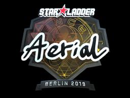 Sticker | Aerial (Foil) | Berlin 2019