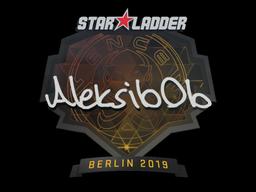Sticker | Aleksib | Berlin 2019