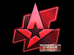 Sticker | Astralis (Foil) | Atlanta 2017
