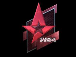 Sticker | Astralis (Foil) | Boston 2018