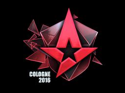Sticker | Astralis (Foil) | Cologne 2016