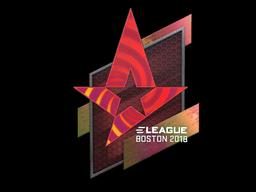 Sticker | Astralis (Holo) | Boston 2018
