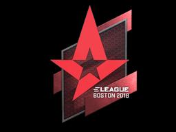 Sticker | Astralis | Boston 2018