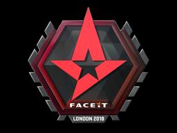 Sticker | Astralis | London 2018