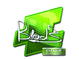 Sticker | B1ad3 (Foil) | Atlanta 2017