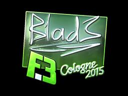 Sticker | B1ad3 (Foil) | Cologne 2015