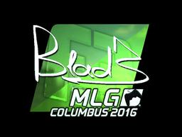 Sticker | B1ad3 (Foil) | MLG Columbus 2016