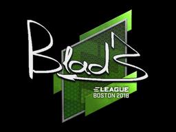 Sticker | B1ad3 | Boston 2018