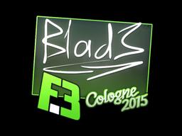 Sticker | B1ad3 | Cologne 2015