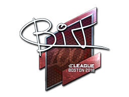 Sticker | BIT (Foil) | Boston 2018