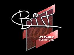 Sticker | BIT | Boston 2018