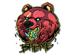 Sticker | Bite Me (Foil)