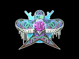 Sticker | Blue Swallow