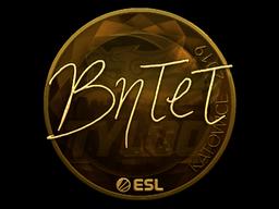 Sticker | BnTeT (Gold) | Katowice 2019